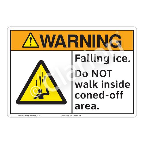 Warning/Falling Ice Sign (F1276-)