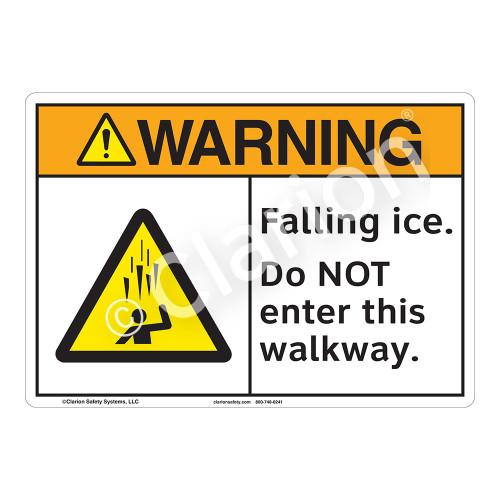Warning/Falling Ice Sign (F1278-)