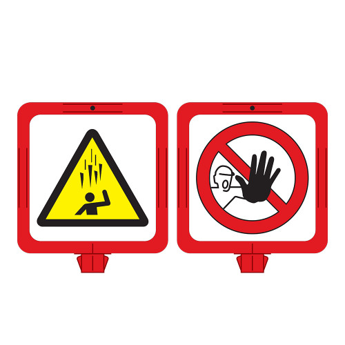 Falling Ice/Stay Clear Sign (F1282-)