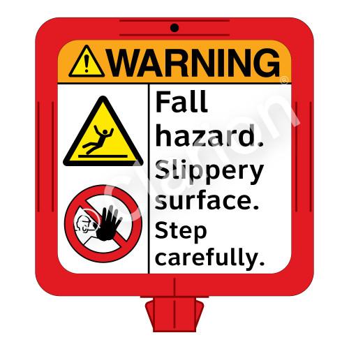 Warning/Fall Hazard Sign (F1287-)