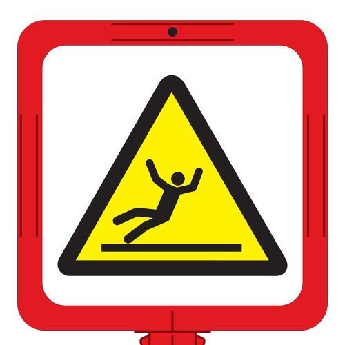 Fall Hazard Sign (F1288-)