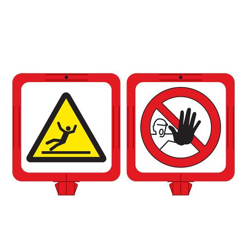 Fall Hazard/Stay Clear Sign (F1289-)