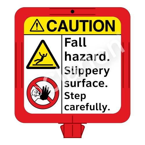 Caution/Fall Hazard Sign (F1290-)