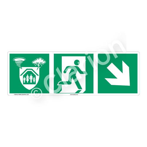 Storm Shelter Sign (F1307-)