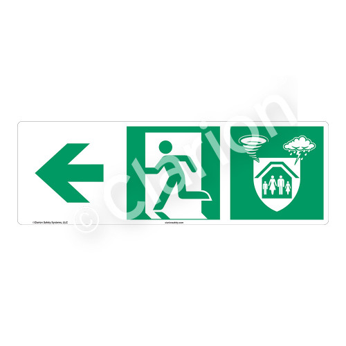 Storm Shelter Sign (F1310-)