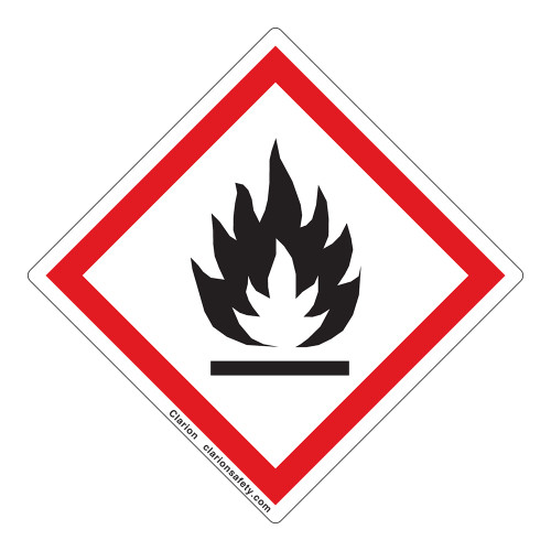 Flame Label (GHS6239-)