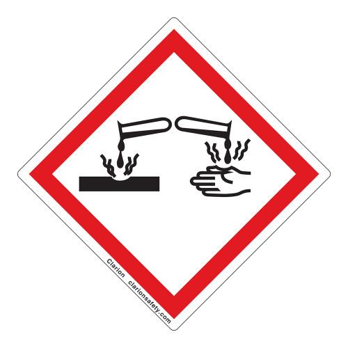 Corrosion Label (GHS6241-)