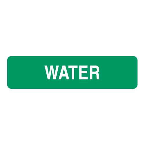 Water Label (H2O-)