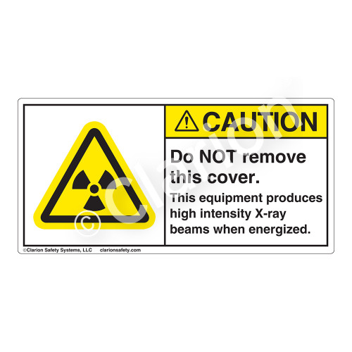 Caution/Do Not Remove This Cover Label (H6005-7FCH)