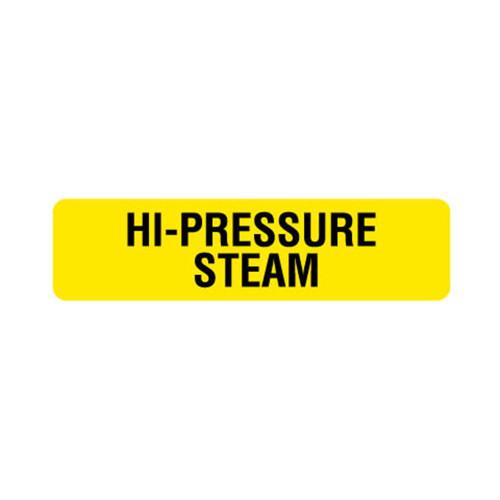 Hi-Pressure Steam Label (HPS-)