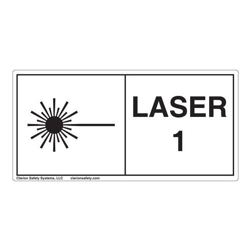 Laser Class 1 Label (IEC1007-H)