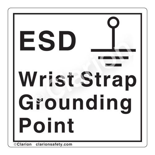Grounding Point Label (IEC5017b-)