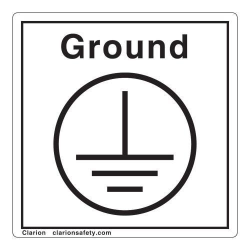 Protective Earth Label (Ground)
