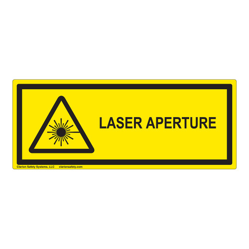 Laser Aperture Label (IEC-6003-E70-H)