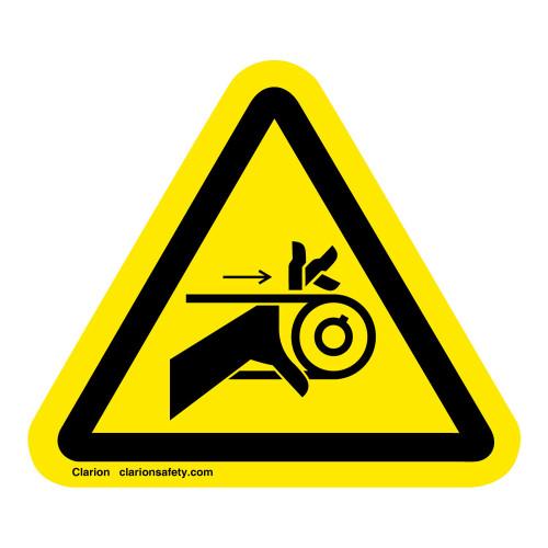 Hand Entanglement/Belt Drive Label (IS1009-)