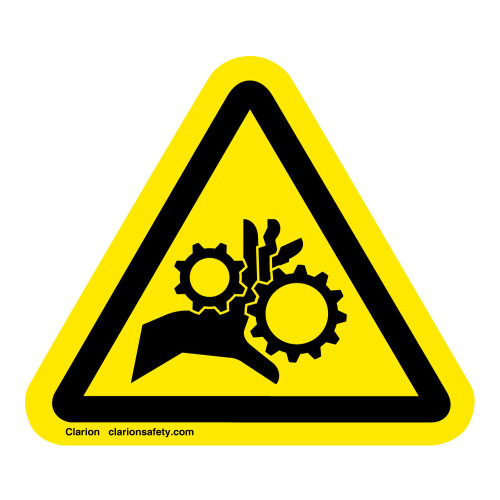 Hand Entanglement/Rotating Gears Label (IS1014-)