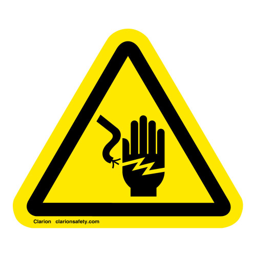 Electrical Shock/Electrocution Label (IS1023-)