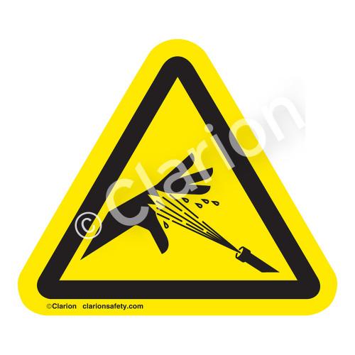 Skin Puncture/Pressurized Water Jet Label (IS1041-)