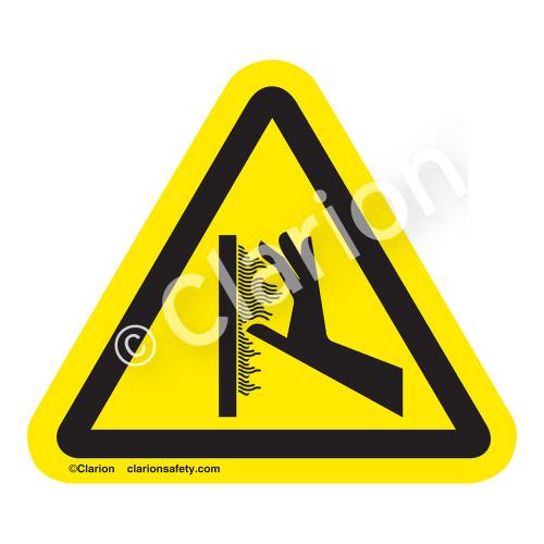 Burn Hazard/Hot Surface Label (IS1100-)