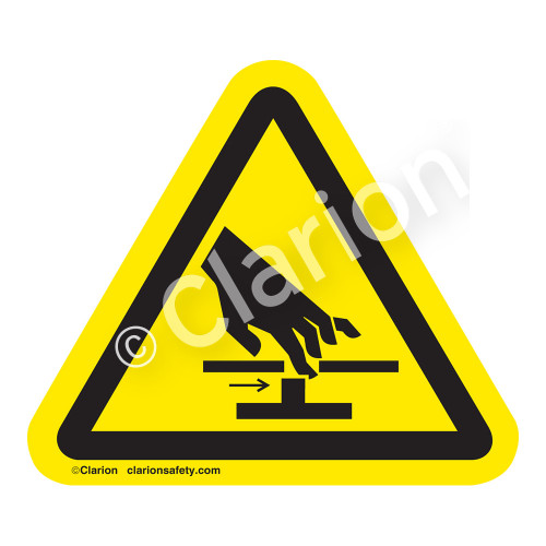 Hand Pinch/Moving Parts Label (IS1110-)