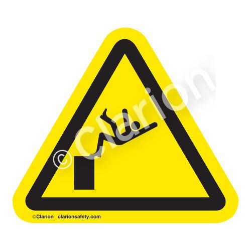 Fall Hazard Label (IS5018-)