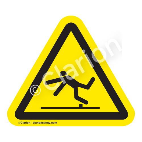 Trip Hazard Label (IS5019-)