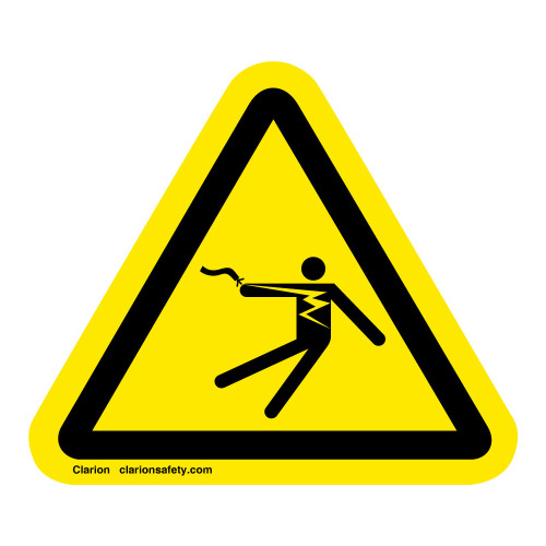 Electrical Shock/Electrocution Label (IS5025-)