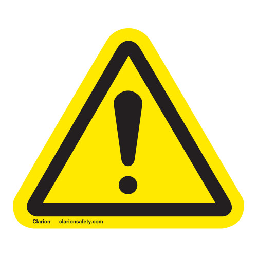 General Danger Label (IS6014-)