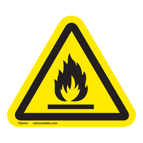 Flammable Material Label (IS6020-)