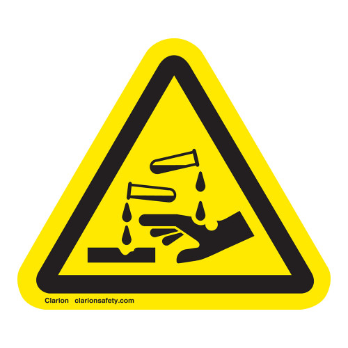 Corrosive Material Label (IS6023-)