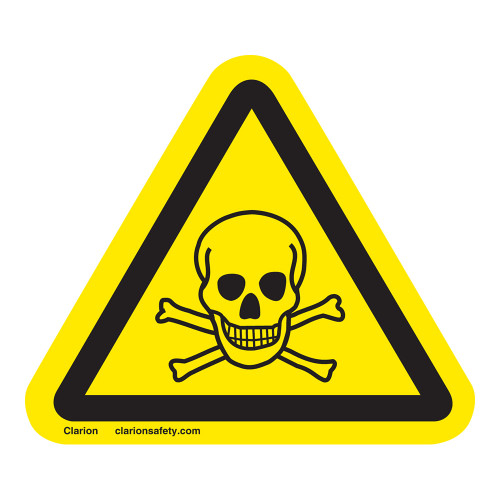 Toxic Material Label (IS6024-)