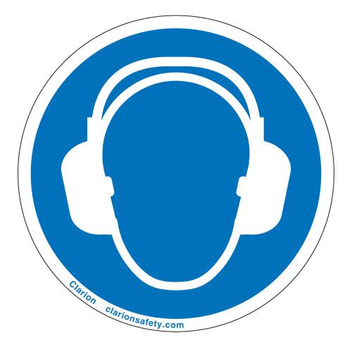 Wear Ear Protection Label (IS6030-)
