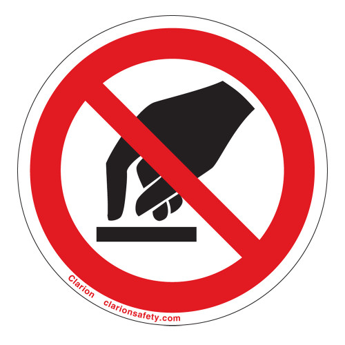 Do Not Touch Label (IS6053-)