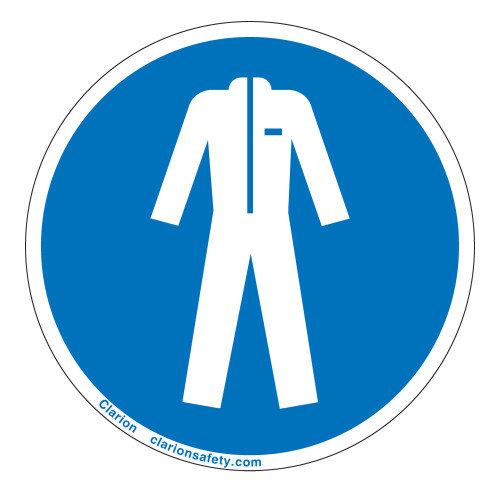 Wear Protective Clothing Label (IS6056-)