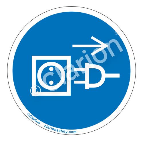 Pull Plug Label (IS6057-)
