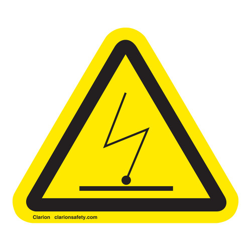 Electrostatic Charge Label (IS6069-)
