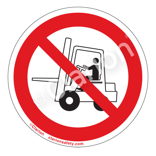 Do Not Use Forklift Label (IS6074-)