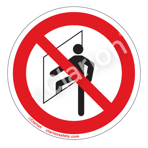 Do Not Enter/Confined Space Label (IS6111-)
