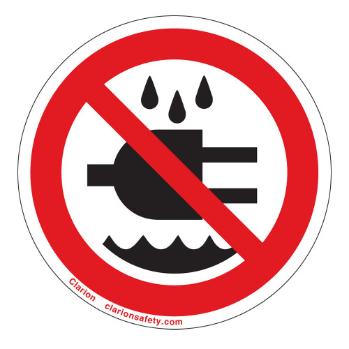 Do Not Expose To Water Label (IS6139-)