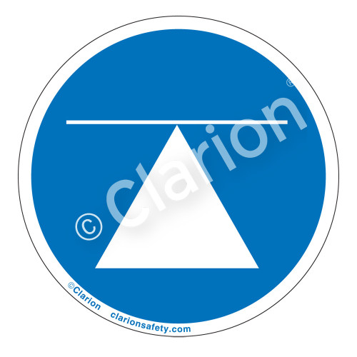 Center Of Gravity Label (IS6140-)