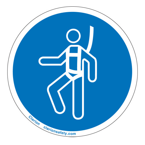 Wear Safety Harness Label (IS6144-)
