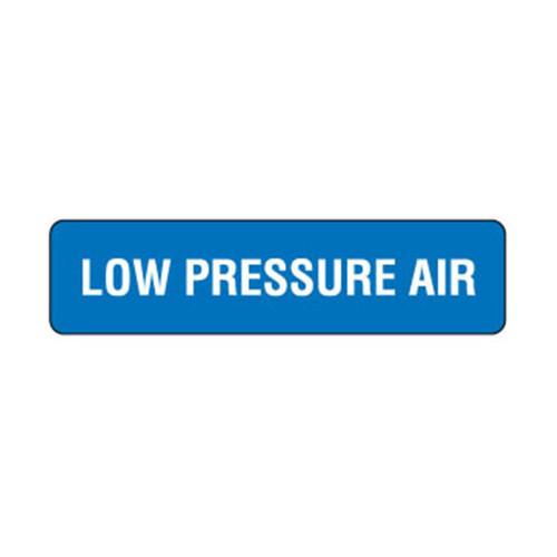 Low Pressure Air Label (LOWPA-)