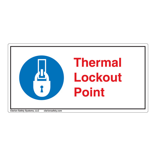 Thermal Lockout Point Label (LP006-)