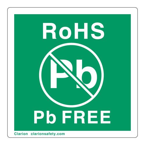 RoHS Pb Free Label (ROHSEU-15)