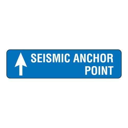 Seismic Anchor Point Label (SEISTU-)