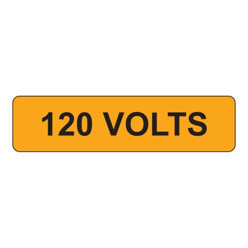 120 Volts Label (V120-)