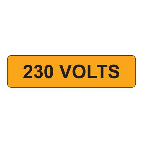 230 Volts Label (V230-)