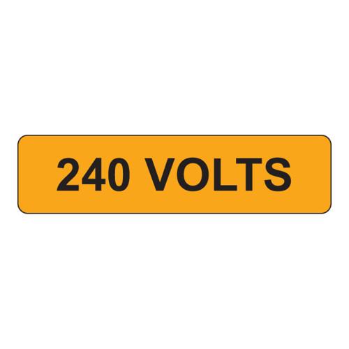 240 Volts Label (V240-)