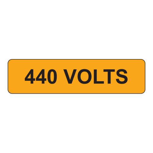 440 Volts Label (V440-)