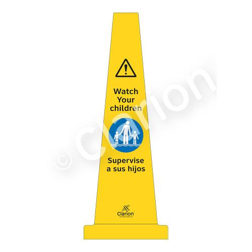 Watch Your Children Sign (WSS1502-33e-esm) )